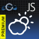 JavaScript Premium Weather Widget
